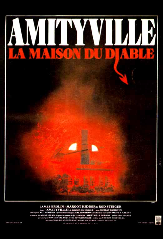 French friday 5 0 french horror movie posters for Amityville la maison du diable