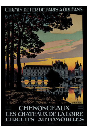 g90097chenonceaux-posters