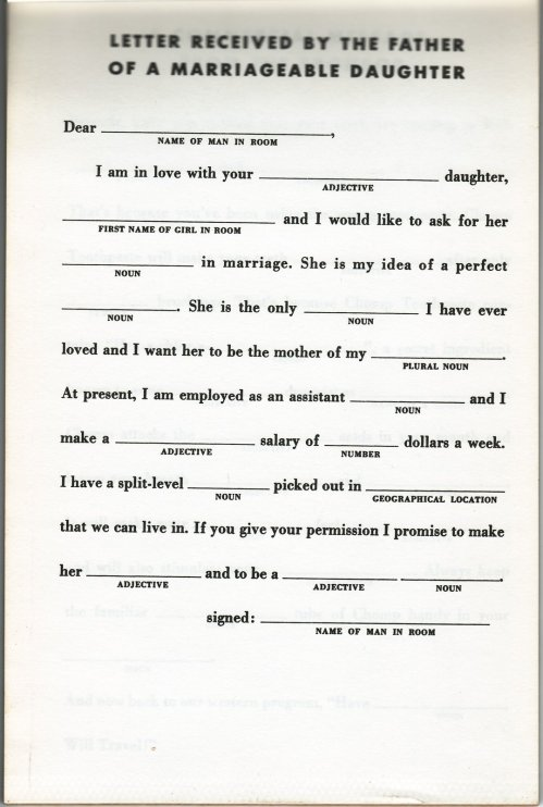 mad lib scan