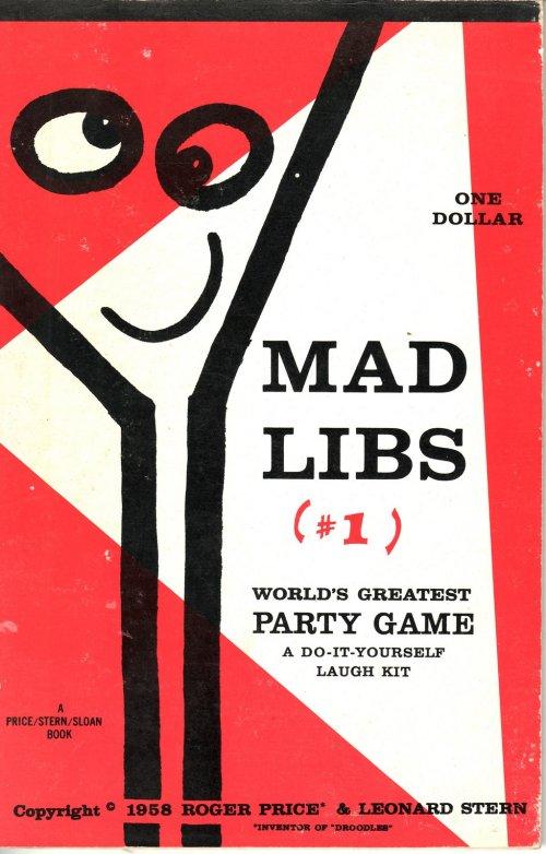 Mad Libs 1-1