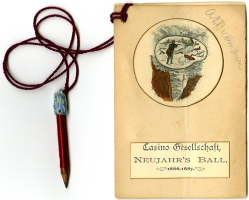 Casino Gesellschaft, Neujahr's Ball, 1886-1887