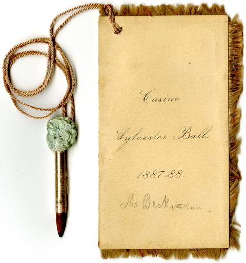 Casino Sylvester Ball, 1887-1888
