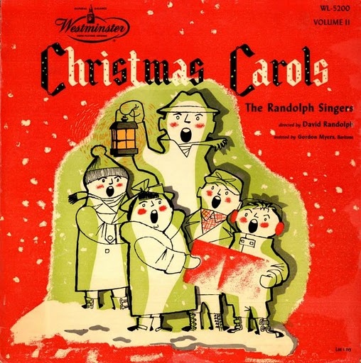 Throwback Thursday Vintage Christmas Album Covers Words