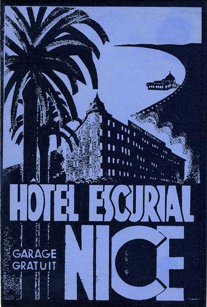 Hôtel Escurial - Nice